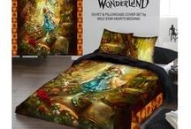 Alice in Wonderland Bedding and Clothing / Alice in Wonderland Bedding and Clothing. Check out our store for this and more awesome clothing. For Those Who Want More Than The mainstream Has To Offer