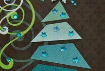 Weihnachtliche Karten