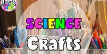 Science Crafts / Science Crafts ❤ Looking for easy to make and fun science crafts for kids? This board contains curated pins on different project ideas that can be done by kids from preschool to middle school at home and in schools by Jewel Pastor of Jewel's School Gems. ❤ STEM | life cycles | solar system | slime recipe | household items | free printables