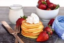 Pancakes & Waffles / Pancakes & Waffles for breakfast or dessert? We got you covered for both!