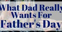 Father's Day / Father's Day Gifts | Food for Dad | Photos for Dad