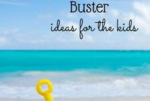 Kids Boredom Busters / Activities for Kids   Crafts   Food   Games
