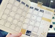 Bullet journal / Want to start with my own bullet journal, be creative