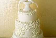 Cake Joy!!- Wedding / Beautiful wedding cakes...Each a work of art!  Enjoy <3 / by Patricia Buttner