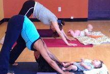 Baby and Prenatal Yoga / Baby and Me Yoga and Prenatal Yoga postures and tips
