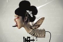 """iNA-iCH """" MA CHAIR ET MON SANG """" / VISUEL AUTOUR DE L'EP """"MA CHAIR ET MON SANG"""""""