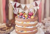 Naked Cake Inspiration / They are THE hottest cakes of the summer. Totally moreish, totally gorgeous - get your Naked Cake inspiration here!