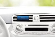 Car Fresheners / Scent your car with stylish lines of car fresheners.