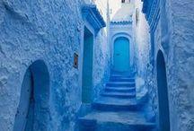 // BLUE // / The color blue