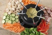 Who's for Fondue? / You may have thought you left fondue in the late 70s but its back as a firm dinner party favourite. We are very excited at all the variations you can create for this party centre piece.
