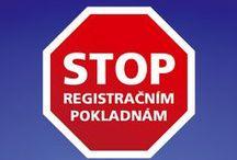 Registrační pokladny musíme zastavit