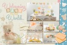 Welcoming Baby to the World / With one in 8 women now invited to a baby shower we have covered everything you need for the perfect day.