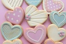 Tea time cookies / Beautiful cookies for tea time or parties / by ✻ღ✻Rita Rorich✻ღ✻