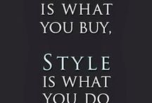 Style / Style photos & quotes