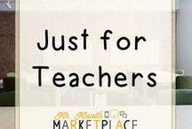 Just for Teachers / Ideas just for teachers to inspire and motivate their students.