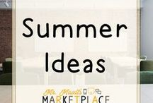 Summer Ideas / Activities and ideas to keep your students engaged in learning over the summer!