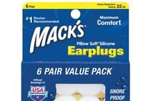 Ear Plugs For Sleeping / Mack's noise reducing sleeping ear plugs are great for sleeping, resting and relaxing. To perform at your best and maintain good health, your body and mind require sufficient, good quality sleep. Proper rest can be elusive in this fast-paced, crowded and often noisy world we live in. With these comfortable Mack's Ear Plugs for sleeping, you can reduce noise and get the good night's sleep you need. / by Mack's Ear Plugs