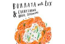 Food Illustrations / by Super Danika