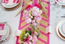{tablescapes} / Lovely table settings.
