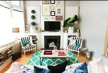 Small spaces: Top Floor Living room and kitchen / Interiors