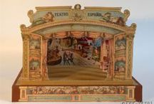 Toy Theaters in Paper and Wood / Papiertheater | Théâtre de Papier