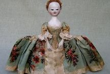 Dolls: Old Pretenders / Historically accurate and correct reproductions of antique William and Mary, Queen Anne, and Georgian English wooden dolls. Exquisite!