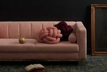 Velvet sofas / Sumptuous velvet sofas in shades from jewel to cool neutrals.