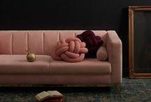 Velvet sofas / Sumptuous velvet sofas in shades from jewel to cool neutrals.