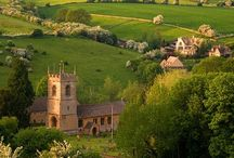 Wiltshire & Surrounding Counties/London / Castles, villages, pubs and tea rooms