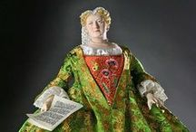 Historical Figures: England / 1:4 scale, 3-dimensional portraits of historical figures in mixed media by George Stuart