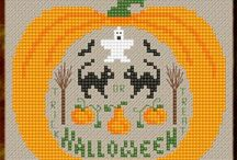 crossstitch Halloween
