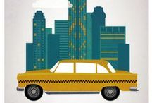 Taxi around the world / Raccolta di foto di taxi da tutto il mondo