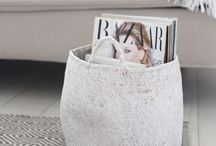Belly basket ideas / Have you got your hands on a belly basket yet? There are so many stylish options for this storage solution. Be warned. It will be hard to stop at one.
