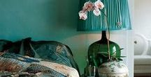 Decor colour: Turquoise / Inspiration for decorating and accessorising your home in turquoise. From softest aqua, through mineral, sea-green to the most vibrant aqua marine, this glorious colour will make a huge impact in your interior scheme.