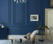 Decor colour: Blue / Decorating with strong blue is bold, beautiful, fabulous and fresh. Find inspo here to introduce this most moody and sophisticated of shades into your interior design.