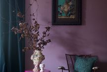 Decor colour: Lilac / From the most desaturated of dusky lilacs to the richest jewel aubergines, these purple toned beauties might just be your decor inspo for 2018.