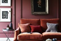 Decor colour: Maroon / Warmer than lilacs and aubergines, the Marsala rich tones of these brick reds and maroons and will add luxe drama to any scheme