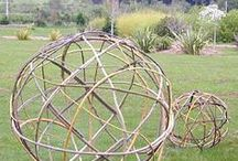 Natural playground ideas for our garden