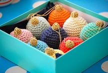 i love yarn: ornaments / by I Love Yarn Day