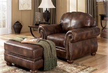 Lay back and Relax! / Sit back, relax, and enjoy the big game in a comfortable Peter Andrews arm chair!
