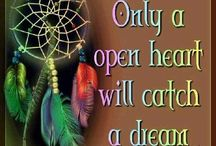 Dream Catchers / Please catch my dreams or just go after them yourself!  / by Peace Point Hypnotherapy Barbie Woodburn