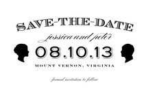 """Sweet Silhouette / Black and White silhouette Wedding style board for """"Sweet Silhouette"""" wedding Save the date by Haute Papier for MyPublisher #Wedding # Save the Date #MyPublisher / by MyPublisher"""