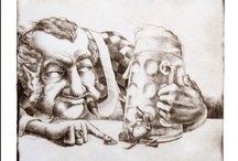 Levente Kocsis' fine art prints - from etching to print making