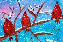 Winter Art Ideas