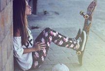 skate woman