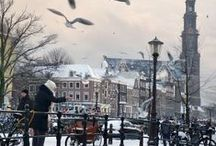 Amsterdam my City / The city were  i live / by Jan Voorderhaak