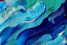 abstract with acrylic | abstrakte Acrylmalerei | abstract met acryl / abstract with acrylic | abstrakte Acrylmalerei | abstract met acryl