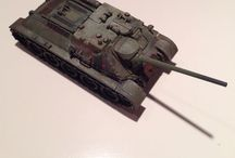 1/87 WWII models / 1/87 ww II model armor, aircraft, trucks and soldiers for HO rail layouts