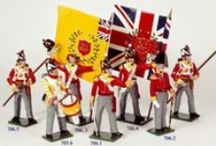 Toy Soldiers / Some of my toy soldiers. Have plenty more.                                Both from Britains and Tradition of London. Limited Editions and 54mm hand painted