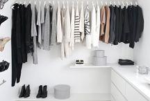 closets / Closet ideas